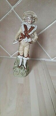 Bisque Porcelain Figure Of A Gentry Boy  • 21.95£