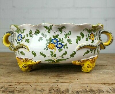 Antique Italian Cantagalli Faience Bowl • 200£