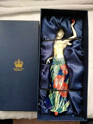 Stunning Old Tupton Ware  Hand Painted  Poppy  Figurine Complete In Original Box • 50£