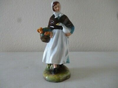 """ROYAL DOULTON """"Country Lass"""" HN1991. Mint Condition • 50£"""