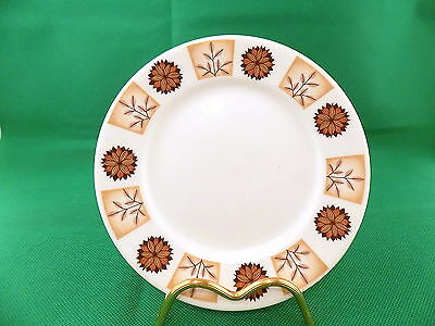 Royal Vale  Brown Flowers Side Plates X 9 • 21£