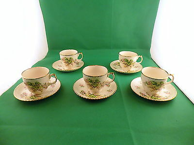 Staffordshire Plex St Pottery Tea Set • 19.90£