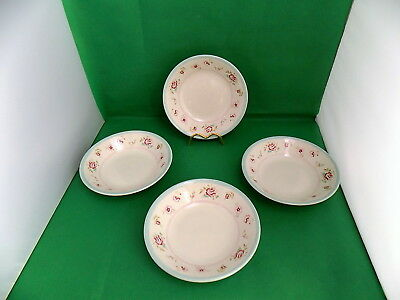 Churchill Rose Soup Bowls X 4 • 14.90£