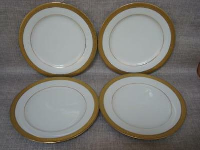 Boots Imperial Gold 8 3/8 Inch Dessert Plates X 4 - Excellent • 20£