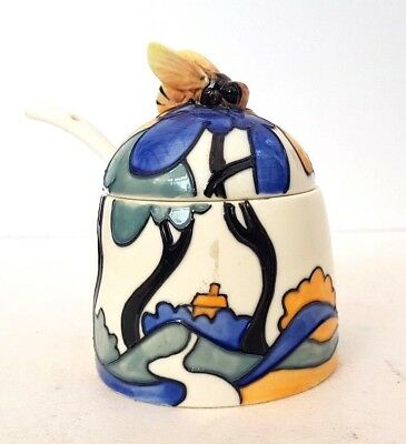 Old Tupton Ware Jeanne McDougall Decorative Condiment Jar The Collection • 23.95£