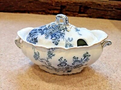 Booths Royal Semi-Porcelain Princess Style Serving Dish With Lid • 9£