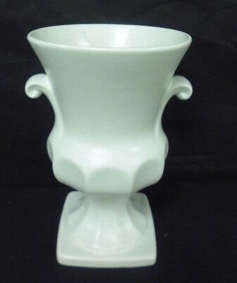 Lord Nelson Pottery White Urn Shaped Vase - 9  Tall                      (ew) • 11.69£