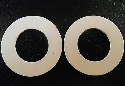 One Pair Of New Replacement Rubber Seals For Hornsea Salt Pepper Spice Jars • 3£