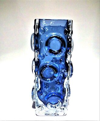 Josef Schott For Smalandshyttan Art Glass Vase Sculpture • 95£
