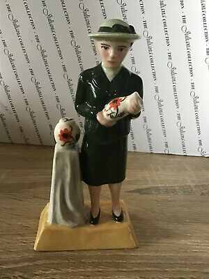 """Lovely Manor The Pottery Ladies Figurine """"Susie Cooper"""" Limited Edition • 20£"""