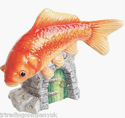 John Beswick Goldfish Ornament (JBDP2) RSPCA Collection NEW • 25£