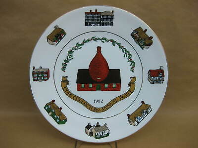 Goss Collectors Annual Plate 1982 ~ Limited Edition ~ W.H Goss • 8.99£