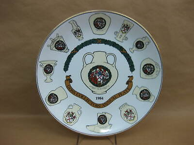 Goss Collectors Annual Plate 1984 ~ Limited Edition ~ W.H Goss • 8.99£