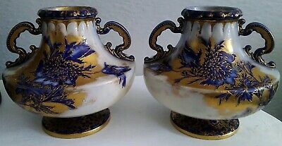 Beautiful Antique Early 20th Century Vases By Wiltshaw And Robinson Carlton Ware • 80£