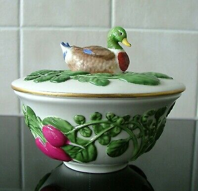 Le Cordon Bleu Country Life Collection Franklin Mint Lidded Bowl Tureen Duck • 24.99£