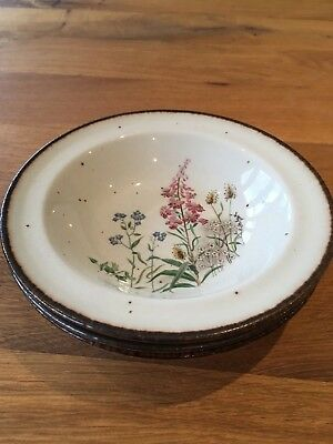 Meakin Wayside Lifestyle Rimmed Bowls • 7.50£