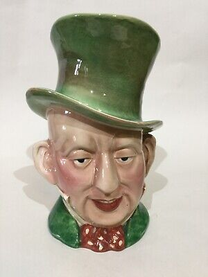 "Vintage Beswick Character Jug "" Micaweber "" Large Size • 14.95£"