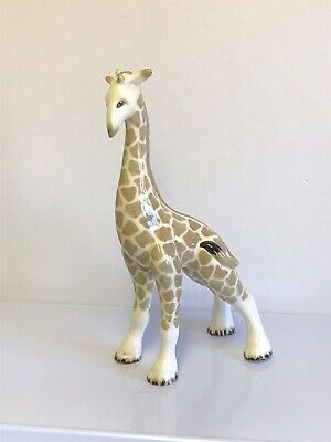 "Vintage W.R. Midwinter Pottery ""Giraffe"" Large Animal Figurine Burslem England • 50£"