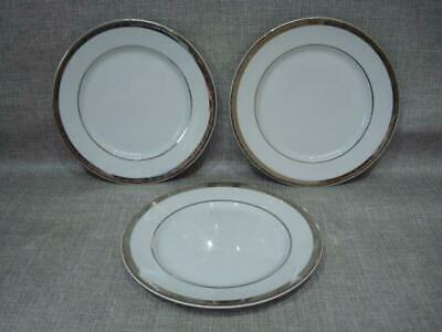 M&s Platinum 8  Dessert Plates X 3 - Excellent • 12£