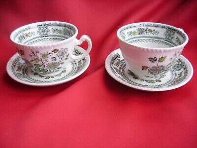 A Pair Of Wood & Sons  Dorset   Cup &Saucers • 5£