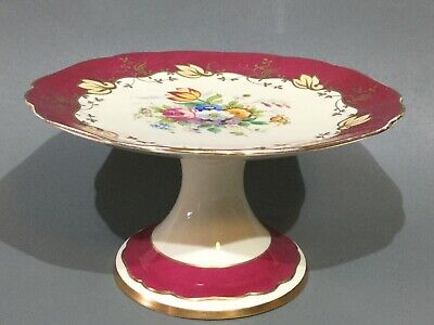 Vintage Tuscan Bone China Comport / Cake Stand • 29.50£
