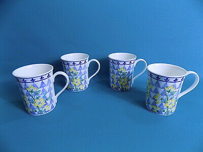 Royal Sutherland Daffodils Mugs X 4 • 19£