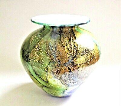 A Isle Of Wight Studio Glass  Vase   • 225£