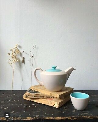Poole England Mid Century Teapot And Cup • 15£