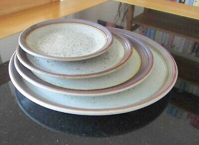 Purbeck Pottery Dinner, Breakfast, Side Plate And Saucer Dish: Portland Design • 20£