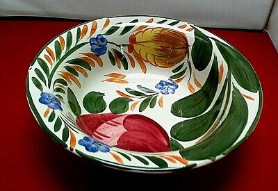 Vintage Wade Capri Serving Bowl Royal Victoria Handpainted Floral Veg Dish • 14.99£