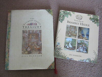 2 Brambly Hedge Books • 7.50£