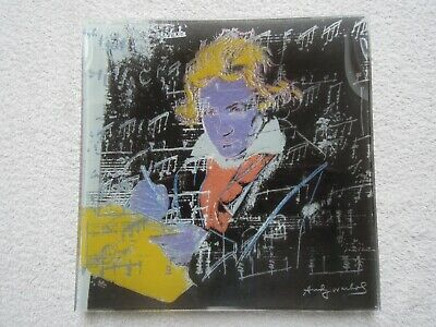 Andy Warhol ~  Blue Beethoven  ~ Plate/compote • 100£