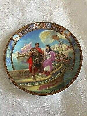 Royal Worcester Plate, Legends Of Love Collection. Antony And Cleopatra • 0.99£