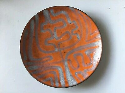 Poole Pottery Abstract Design Footed Dish • 21.42£