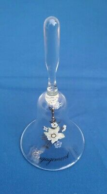 Glass Bell Engagement Gift • 4£