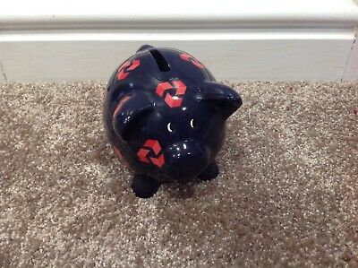 Nat West Piggy Bank With Stopper • 10£