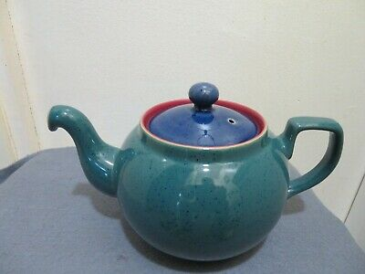 Denby Harlequin Tea Pot • 10£