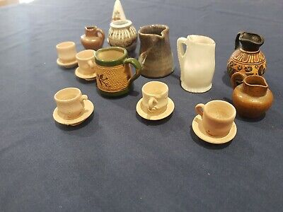 Great Selection Of Miniature Pottery Including Langley Mill • 0.01£