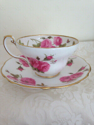 Foley Cup And Saucer  Century Rose • 19.99£