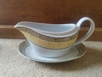 Wedgwood Home - Florence - Gravy Sauce Boat Jug & Stand • 7.95£