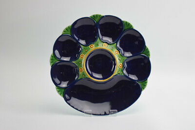 Antique English Minton Majolica Oyster Plate C1890s • 150£