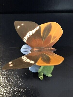 Franklin Mint Butterflies Of The World Tufted Jungle King • 7£