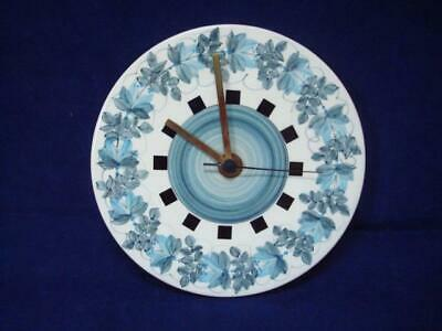 JERSEY POTTERY VINTAGE ORIGINAL WALL CLOCK - EXCELLENT WORKING CONDITION (i) • 15£