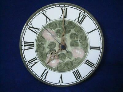JERSEY POTTERY VINTAGE ORIGINAL WALL CLOCK - EXCELLENT WORKING CONDITION (ii) • 15£