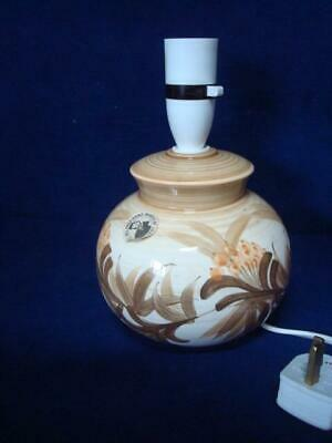 Jersey Pottery Vintage Original Bulb Shaped Lamp - Excellent Working Condition • 20£