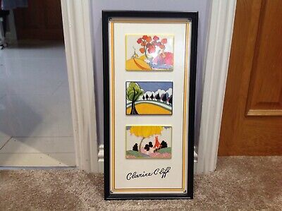 Clarice Cliff Rich Designs Tile Picture Limited Edition • 175£