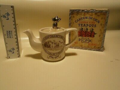 Paul Cardew Teapot. Excellent With Box • 8.60£