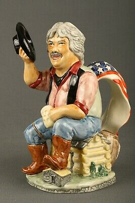 Maurice Wideman Toby Jug By Kevin Francis • 40£