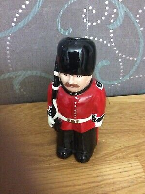 Vintage  Toby Jug Soldier On Guard 6 Inch High • 3£