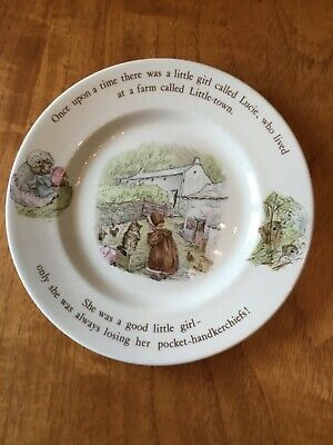 Wedgewood Beatrice Potter Mrs Tiggywinkle Plate • 5£